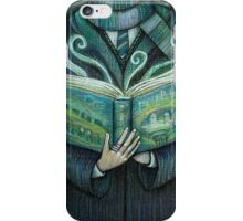 Books magic green iPhone Case/Skin