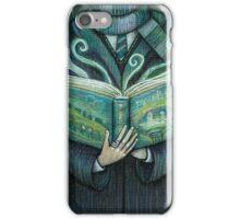 Books magic green iPhone Case/Skin