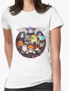 AKATSUKI CHIBI Womens Fitted T-Shirt