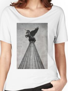 Unicorn On High 1 Women's Relaxed Fit T-Shirt