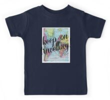 Around the world.. Travel Free! Kids Tee
