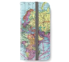 Around the world.. Travel Free! iPhone Wallet/Case/Skin