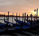 Evening Gondolas  by CiaoBella