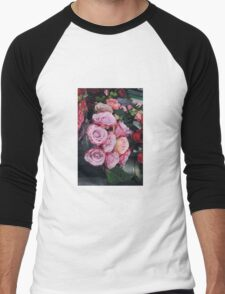 Bed of Roses Men's Baseball ¾ T-Shirt