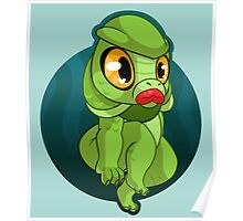 Cutie From The Black Lagoon Poster