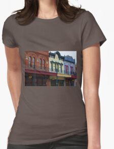 Historic Grapevine 1 Womens Fitted T-Shirt