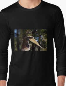 """Great Horned Swoop"" Long Sleeve T-Shirt"