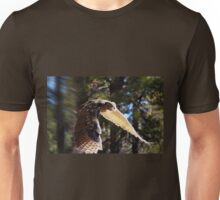 """Great Horned Swoop"" Unisex T-Shirt"
