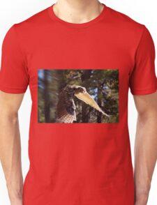 """Great Horned Swoop"" Unisex T-Shirt"