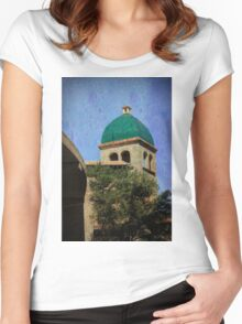 The Bell Tower Women's Fitted Scoop T-Shirt