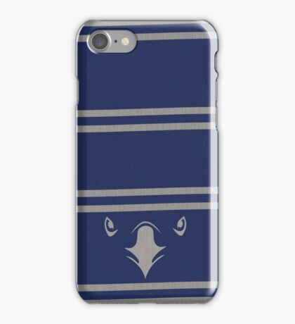 The blue scarf iPhone Case/Skin