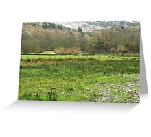 GRASMERE FIELDS Greeting Card