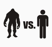Bigfoot VS Human Baby Tee