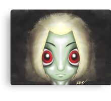 Witch Stare Canvas Print