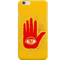 Hand and eye iPhone Case/Skin
