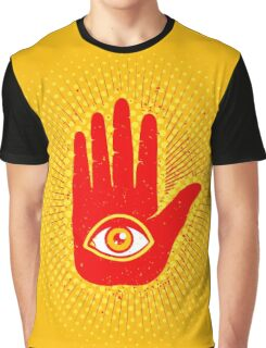 Hand and eye Graphic T-Shirt