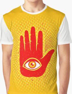 Hand and eye Graphic T-Shirt