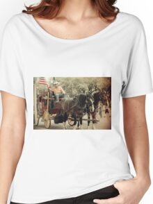 Historic Stockyards 2 Women's Relaxed Fit T-Shirt