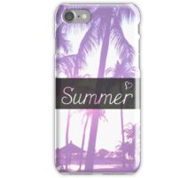 Summer! iPhone Case/Skin