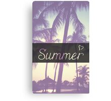 Summer! Canvas Print