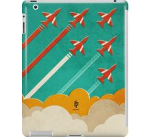 The Red Arrows over the Thames Estuary iPad Case/Skin