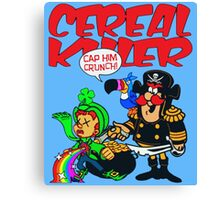 Cereal Killer Canvas Print