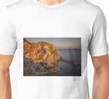 Manarola Dusk Cinque Terre Italy Unisex T-Shirt