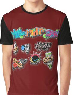 Hip Hop style Graphic T-Shirt