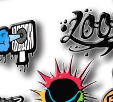 Hip Hop style Sticker