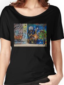 Cool Graffiti Artist Women's Relaxed Fit T-Shirt