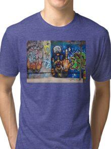 Cool Graffiti Artist Tri-blend T-Shirt