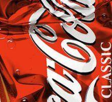 Classic Coca-Cola Sticker