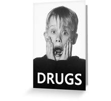 Macaulay Culkin -Drugs- Greeting Card