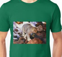 Lynx on the Prowl Unisex T-Shirt