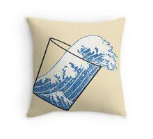 Glass Half Full Event Horizon Throw Pillow