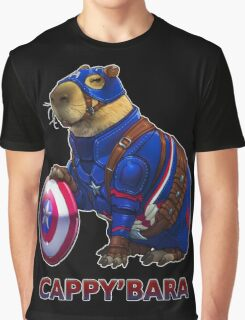 CAPPY'BARA Graphic T-Shirt