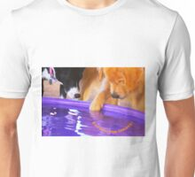 """""""Panning for Golden"""" (with logo) Unisex T-Shirt"""