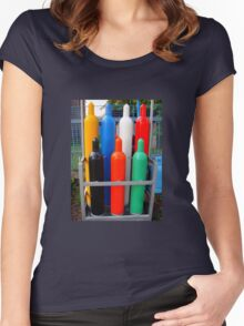 Colors.. Women's Fitted Scoop T-Shirt