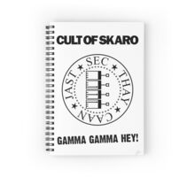 Cult Of Skaro Spiral Notebook