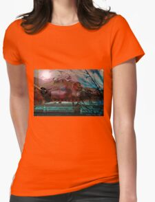 """""""B-17, Guadalcanal"""" Womens Fitted T-Shirt"""