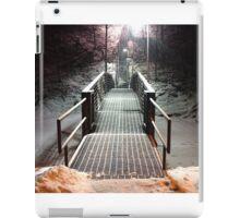 Winter Stairs (1) iPad Case/Skin