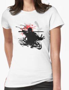 Japanese Ninja Womens Fitted T-Shirt