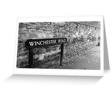 Winchester Road Greeting Card