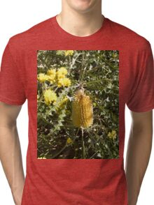 Banksia in Kings Park Tri-blend T-Shirt