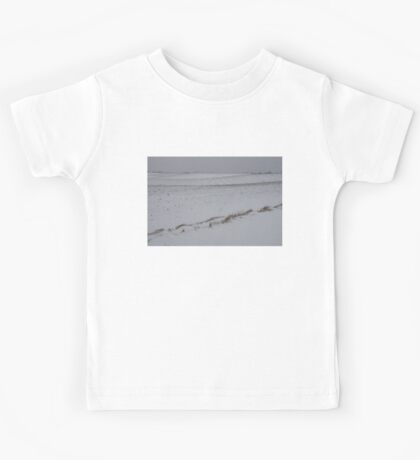Fertile Farm Fields Sleeping Under the Snow Kids Tee