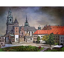 Cracow.World Youth Day in 2016. Photographic Print