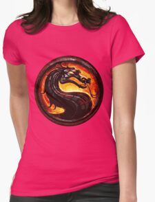 mortal Womens Fitted T-Shirt