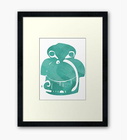 Symbolic hunt Framed Print