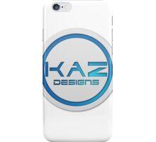 Kaz Designs Official Logo iPhone Case/Skin