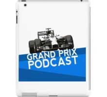 Grand Prix Podcast iPad Case/Skin